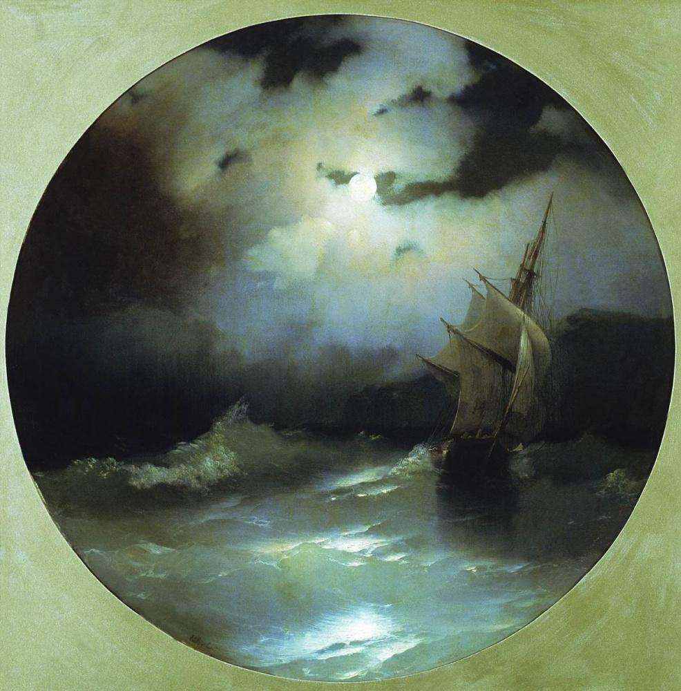 Иван Константинович Айвазовский. Море в лунную ночь
