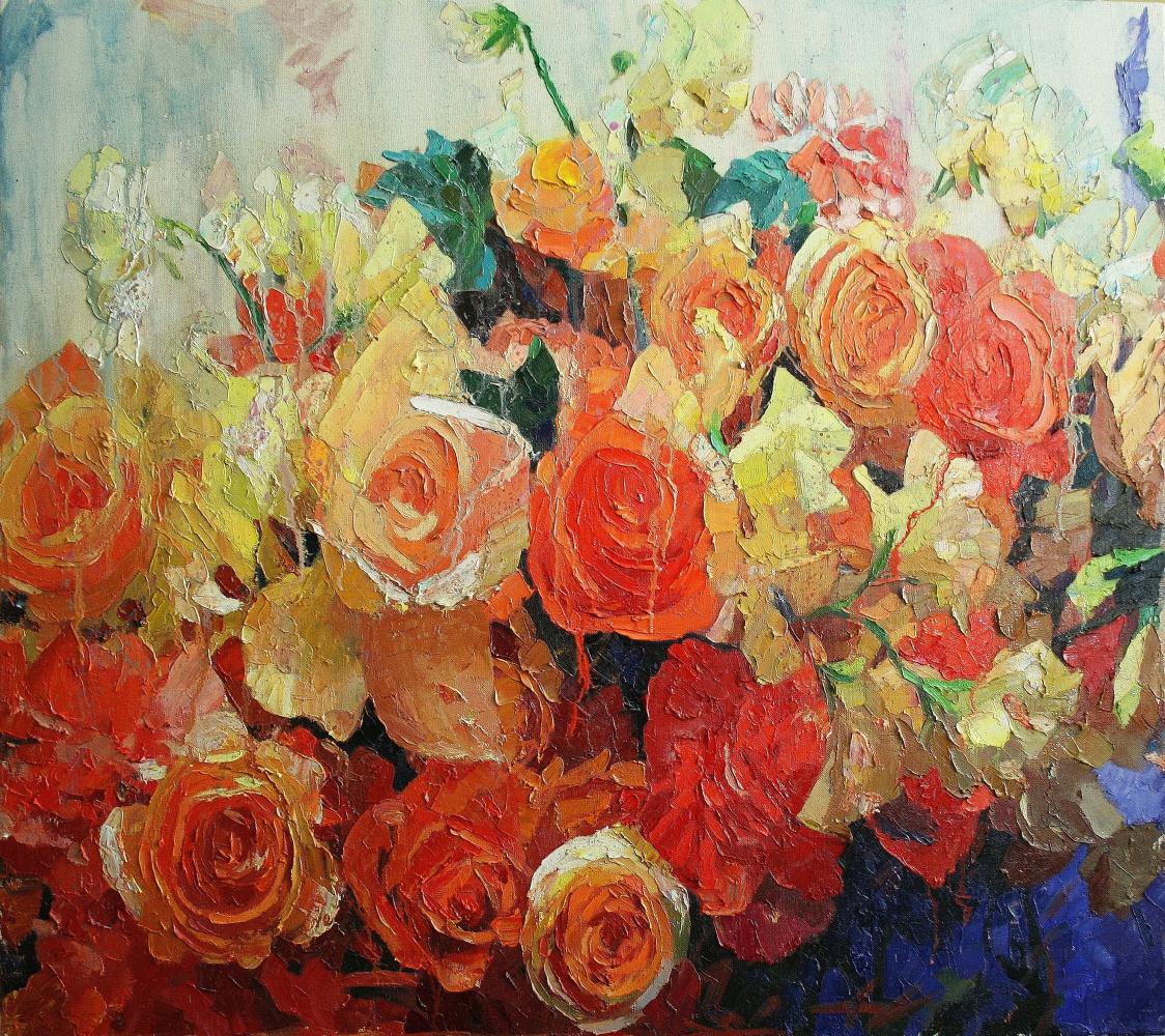 Mikhail Rudnik. Roses