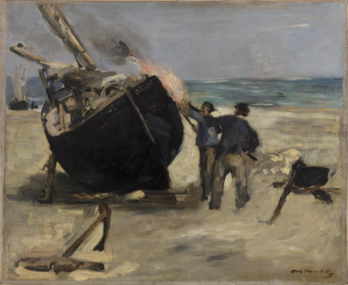 Edouard Manet. Smolina boats