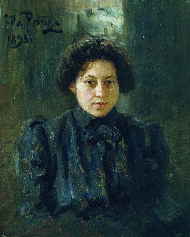Илья Ефимович Репин. Портрет Н.И.Репиной, дочери художника