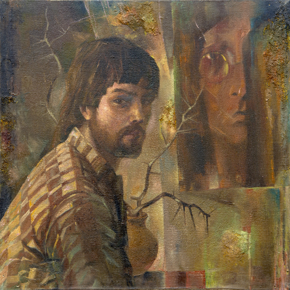 Rinat Salimzyanovich Khanafeev. Self-portrait