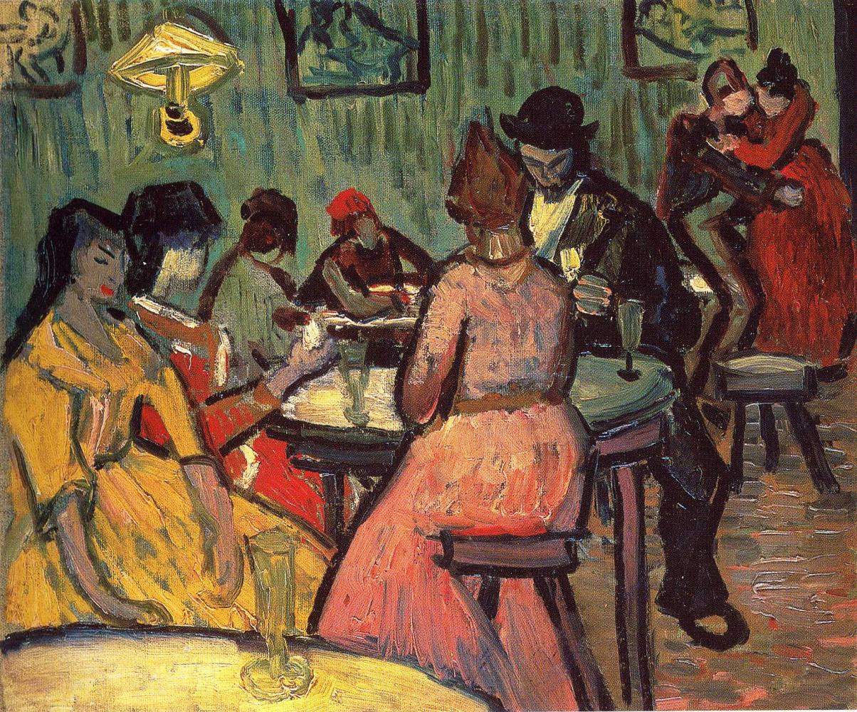 Vincent van Gogh. The brothel