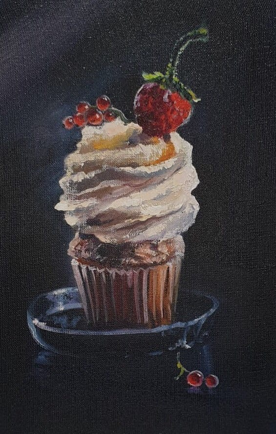 Olga Bazanova. Cupcake