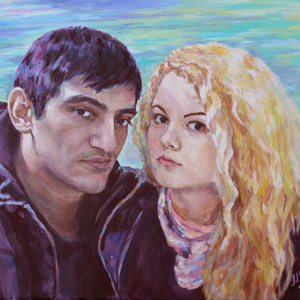 Mila Kaneyeva. Portrait to order