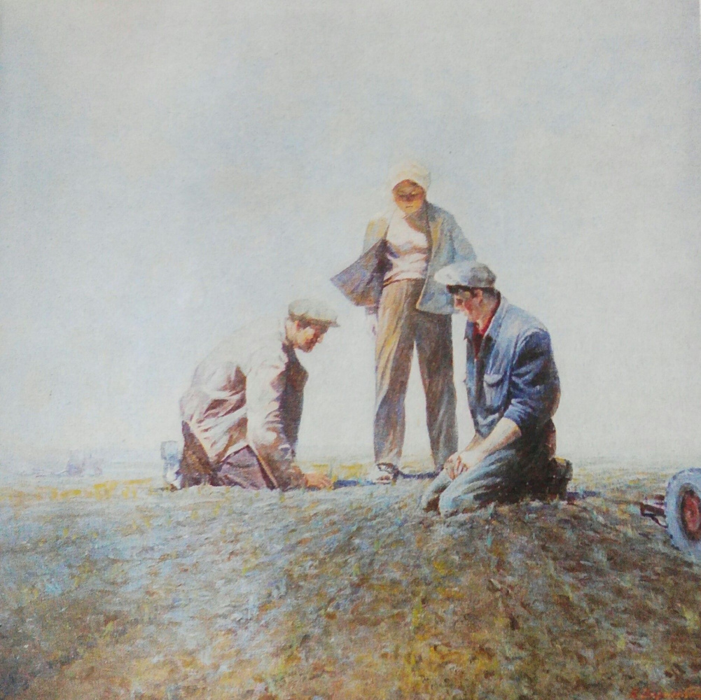 Vladimir Kuzmich Vorokhobin. Growers