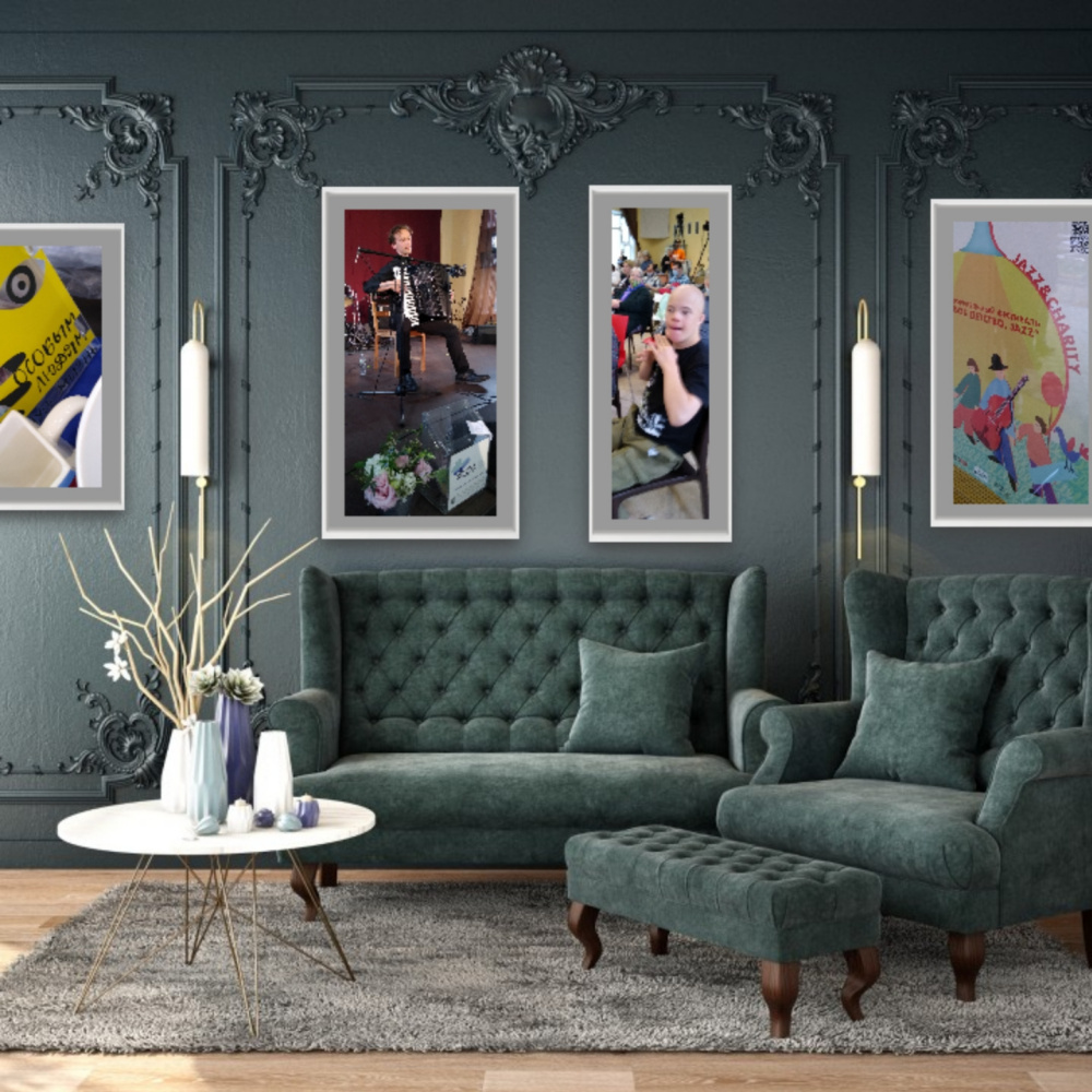 Natalya Garber. Special jazz. VR art for charity and social luxury projects and concert venues