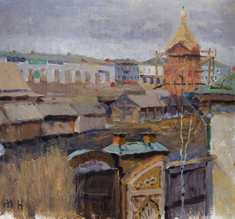 Mikhail Vasilyevich Nesterov. In Ufa