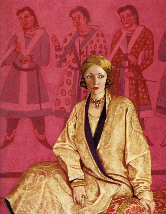 Svyatoslav Nikolaevich Roerich. Portrait Of Natasha Rambova