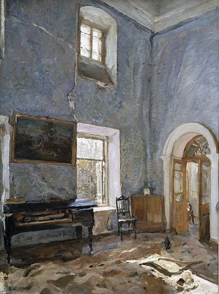 Valentin Aleksandrovich Serov. Hall of the old house. The Manor Belkino