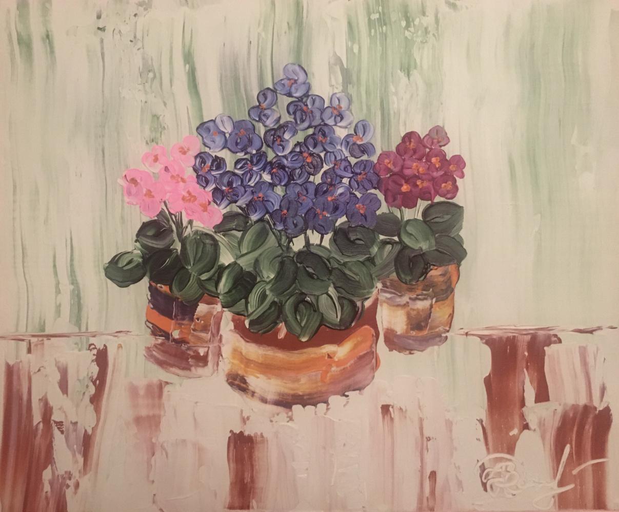 Daria Nagayets. Violets
