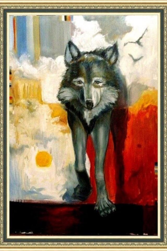 Vlada Yakovenko. Wolf
