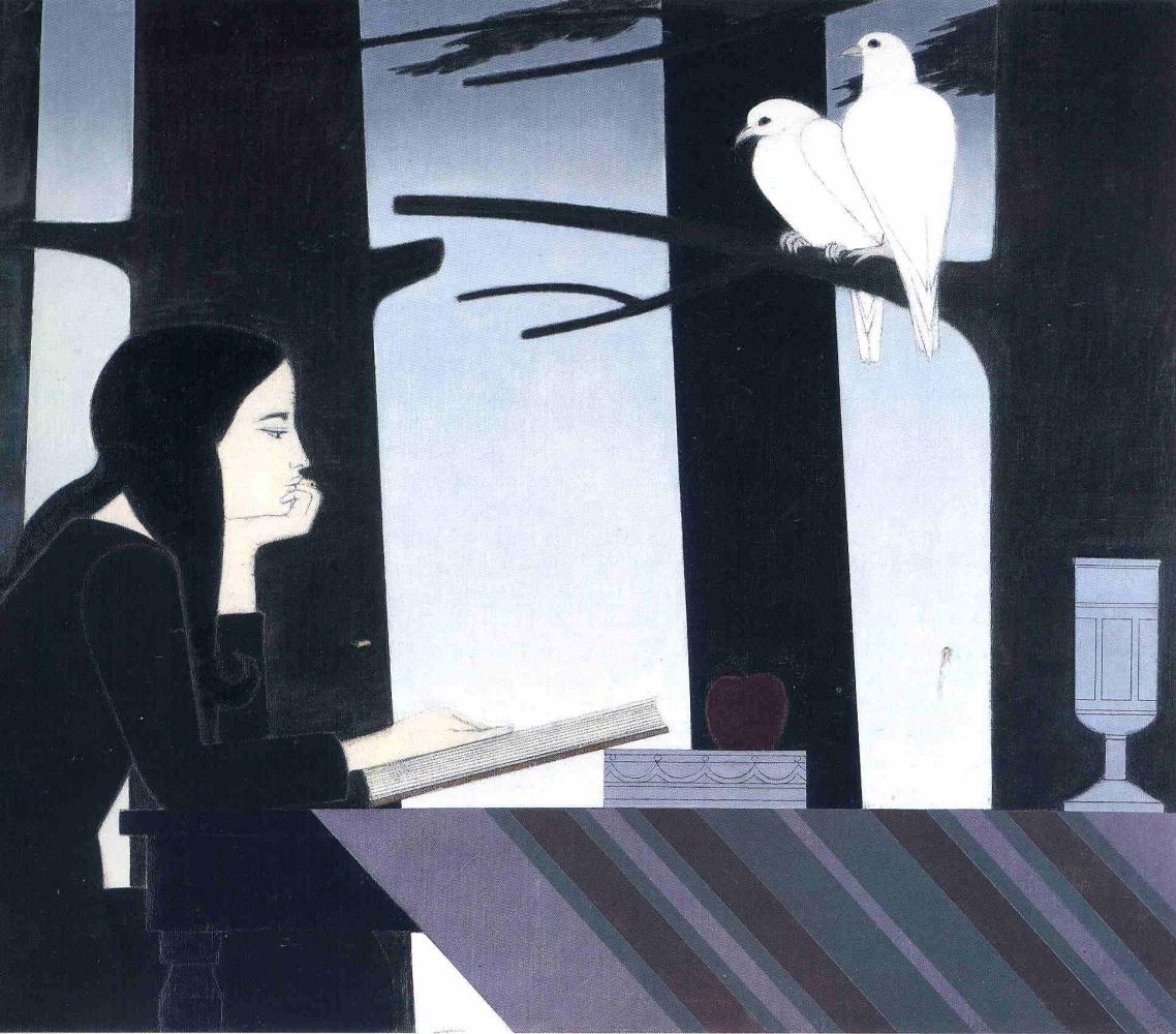 Will Barnet. White bird