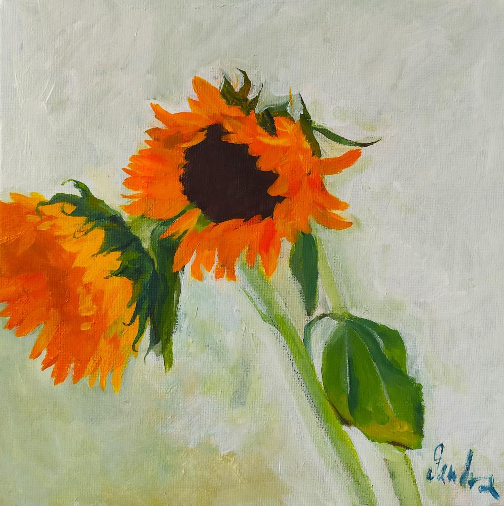 Sandra Nadaraya. Sunflower