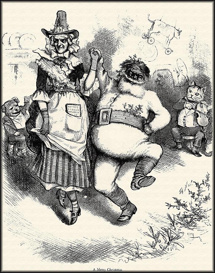 Thomas Nast. Merry Christmas
