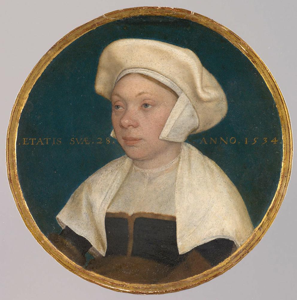 Ганс Гольбейн Младший. Жена придворного слуги короля Генриха VIII