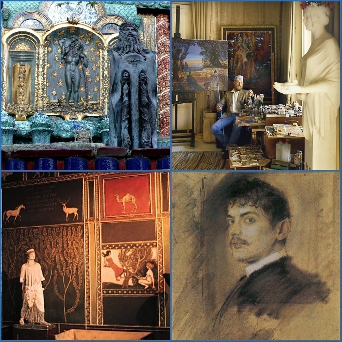 Художники и виллы (ч.2) – городские виды: Франц фон Штук и Энст Фукс приглашают