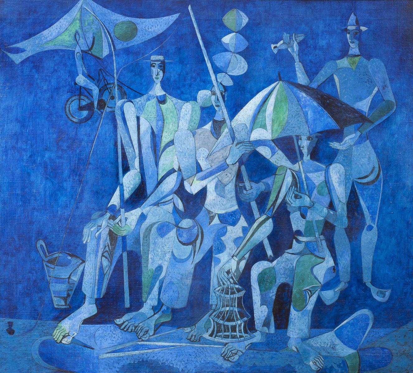 Прекрасные дегенераты: выставка-продажа искусства, выжившего в схватке с Гитлером