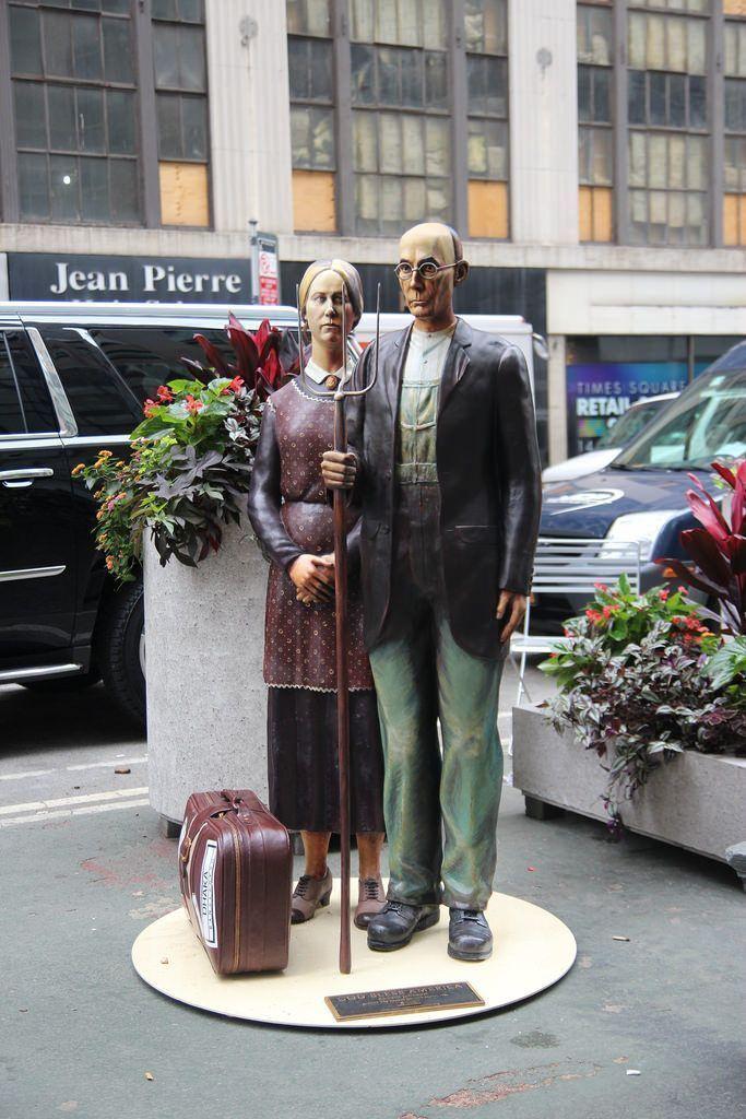 Нью-Йорк... Нью-Йорк! 10 хитовых арт-инсталляций этого лета