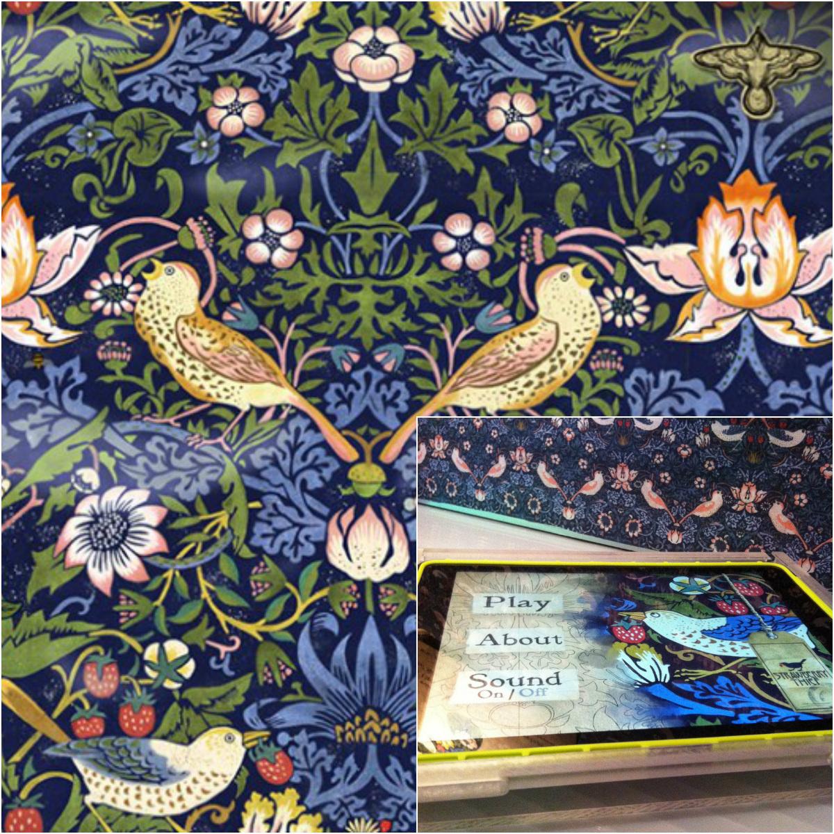Музей Виктории и Альберта представил игру по работе прерафаэлита Уильяма Морриса: ловите птичку для iPad !