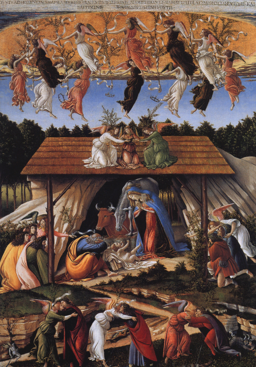 Сандро Боттичелли. Мистическое Рождество