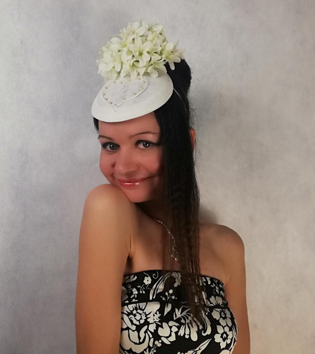 """Natalia Vladimirovna Solntseva. Hat """"Heart in snowdrops"""""""