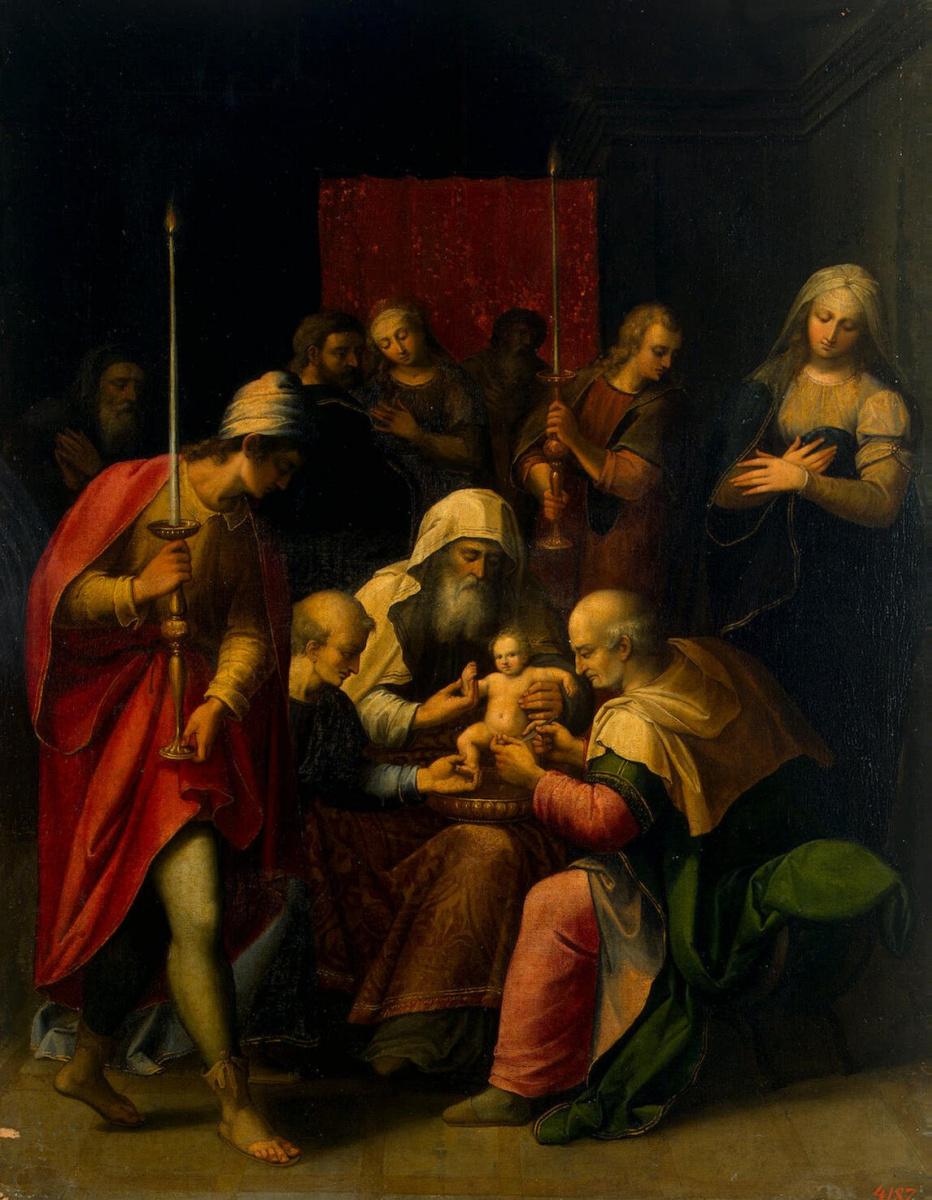 Луис де Карвахаль. Обрезание Христа
