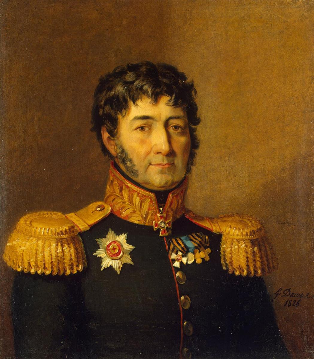 George Dow. Portrait of Semen Georgievich Gangeblova