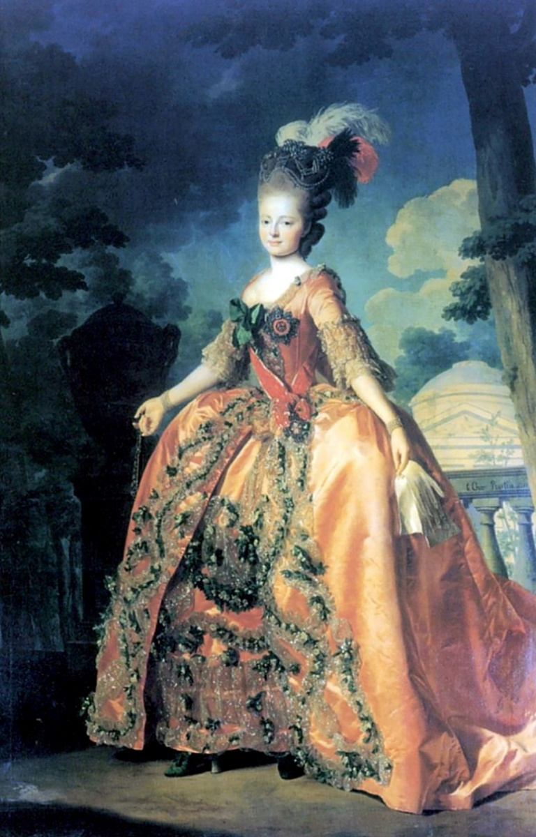 Александр Рослин. Портрет великой княгини Марии Федоровны