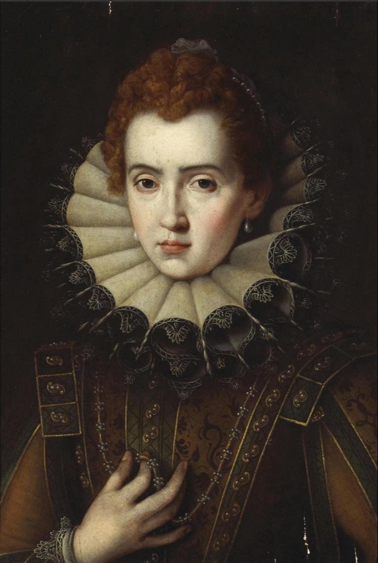 Alessandro Allori. Portrait of a lady. Private collection