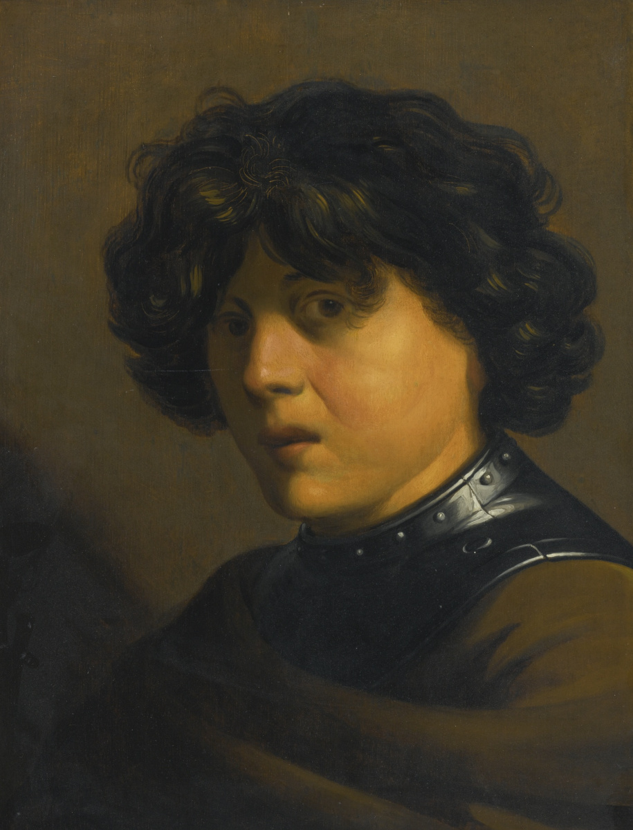 Ян Ливенс. Портрет юноши в доспехах