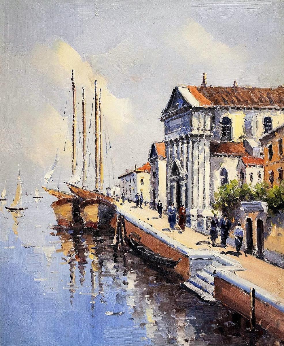 Андрей Шарабарин. Сны о Венеции N12