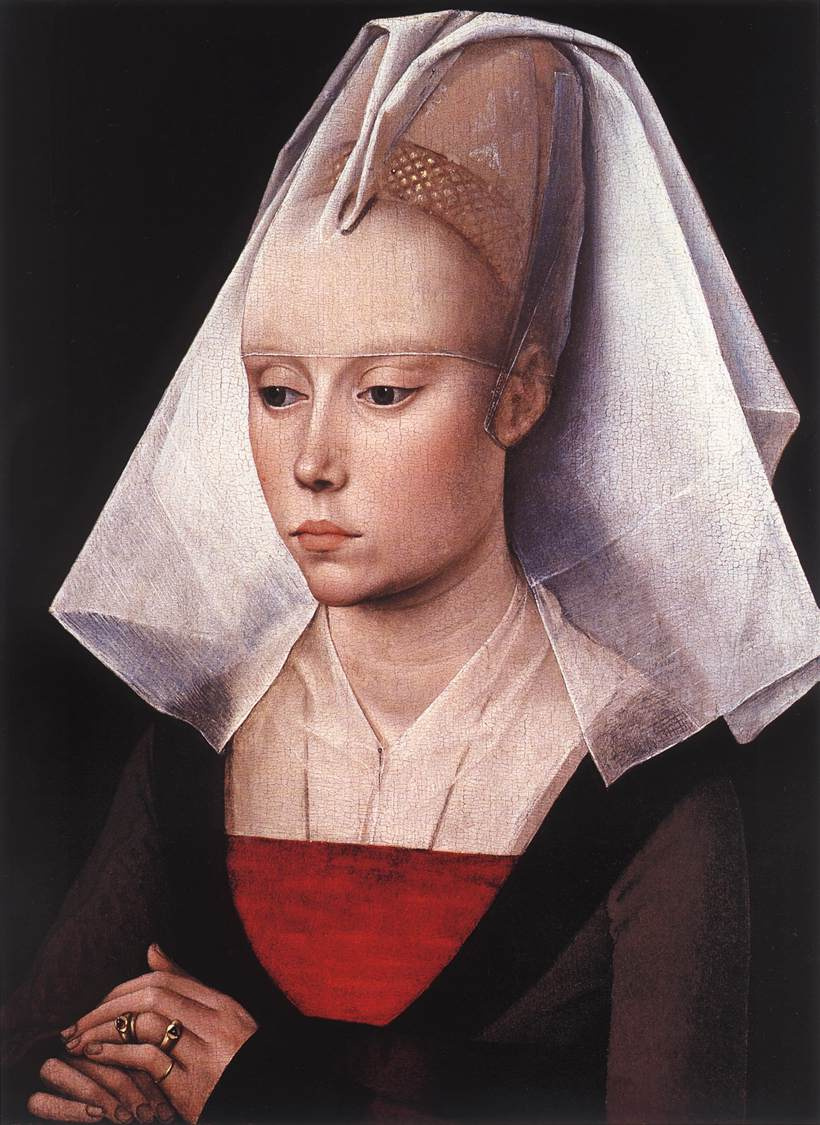 Рогир ван дер Вейден. Портрет девушки