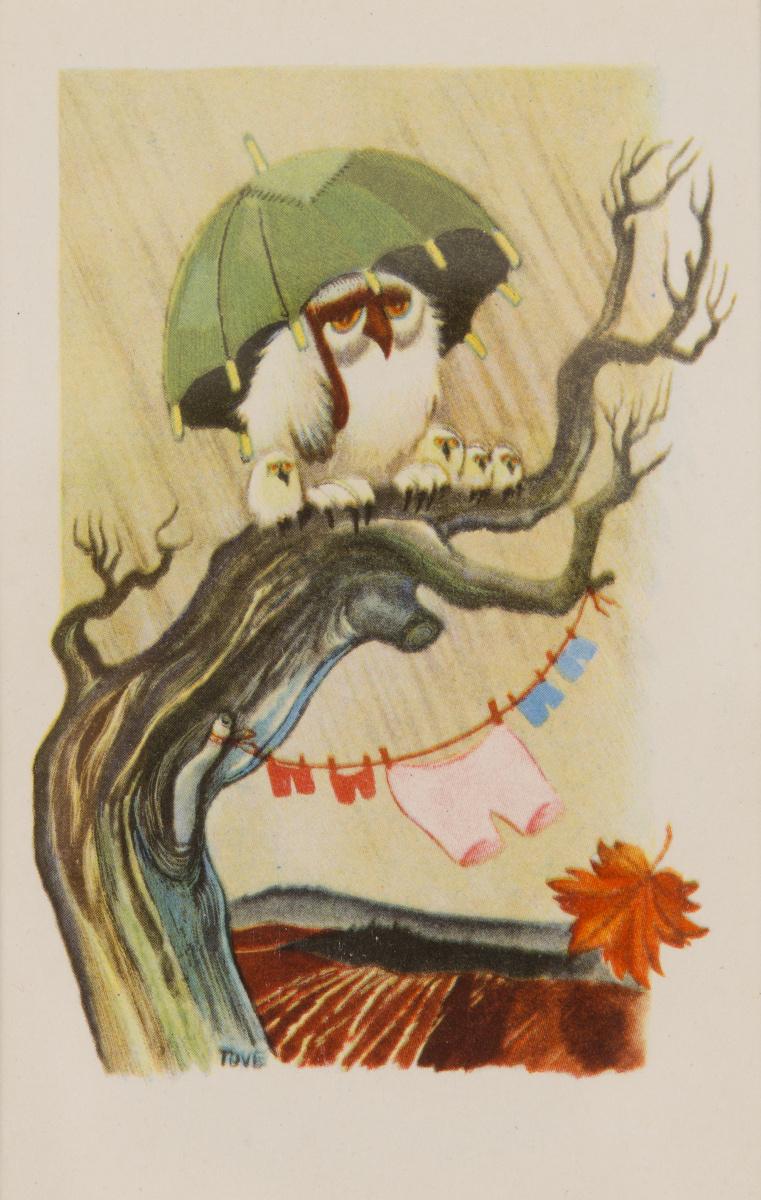 """Туве Янссон. Серия """"Юмористические истории о животных"""". Осень"""