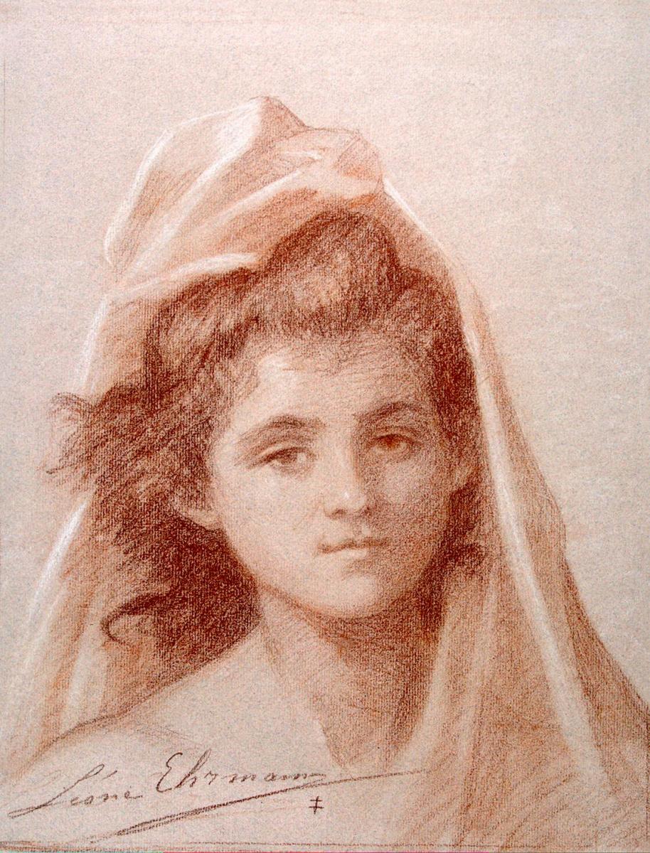 Леон Эрманн. Портрет женщины