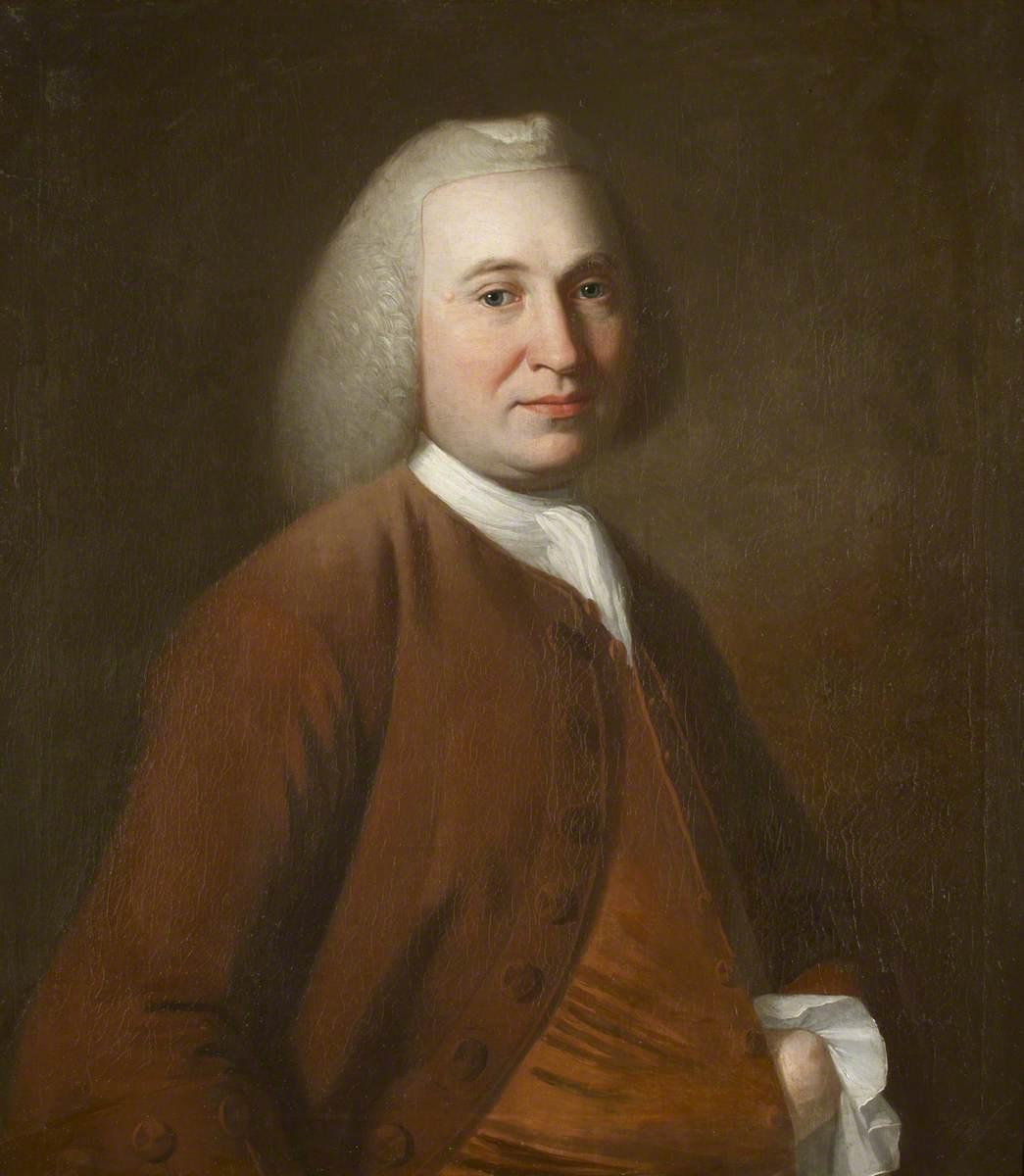 George Romney. Hugh Holm, deputy rector of Kendal