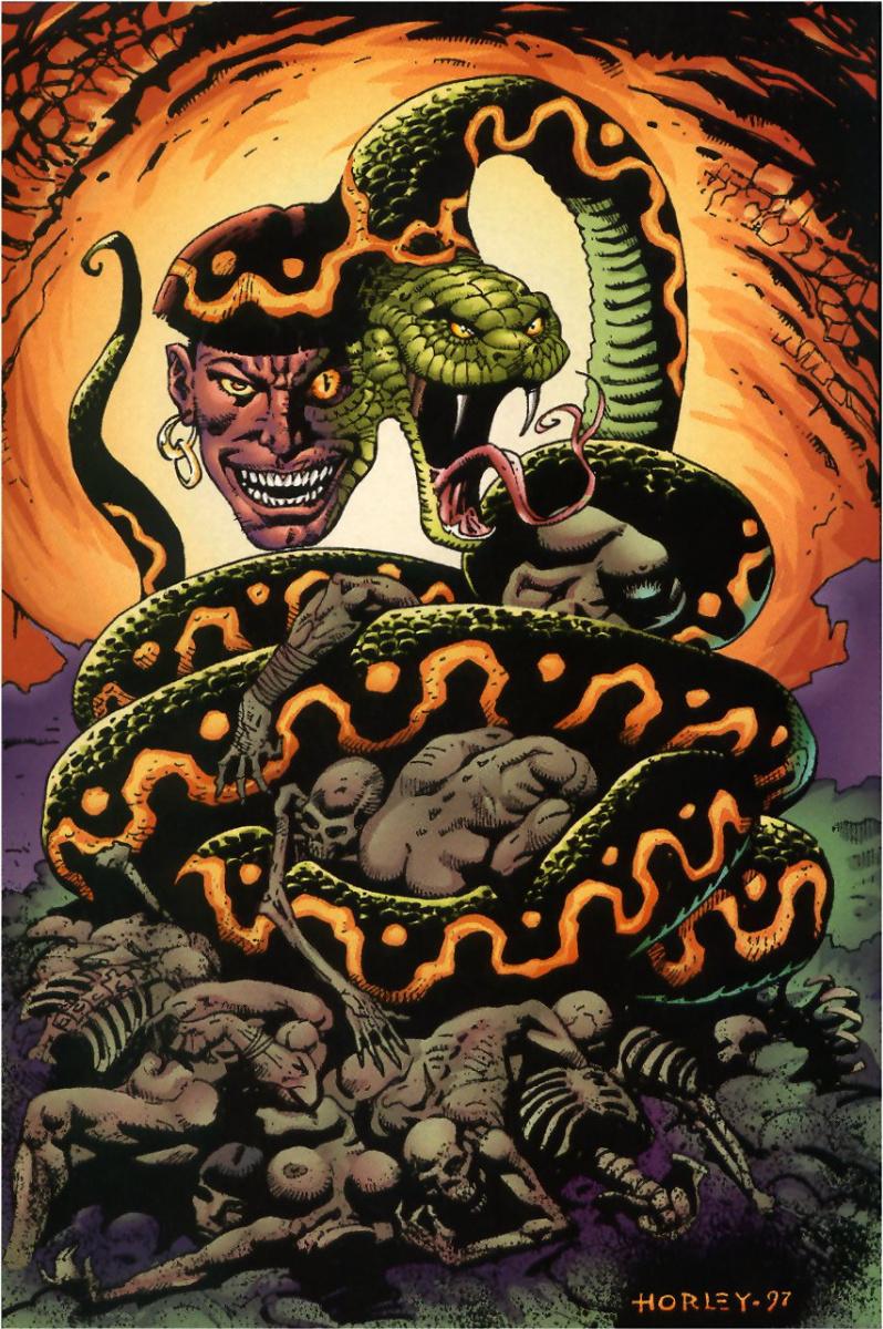Алекс Хорлей. Змея