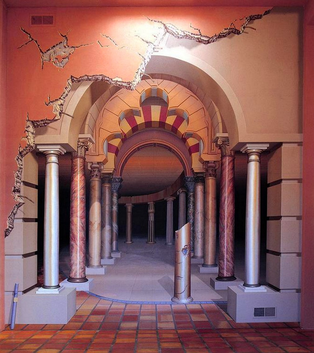 John Pugh. Colonnade. Way to the past