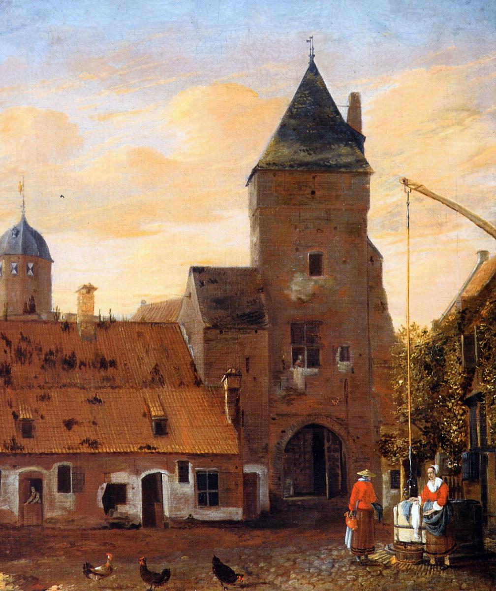 Йоханнес Ван Келенберг. Старая пороховая башня