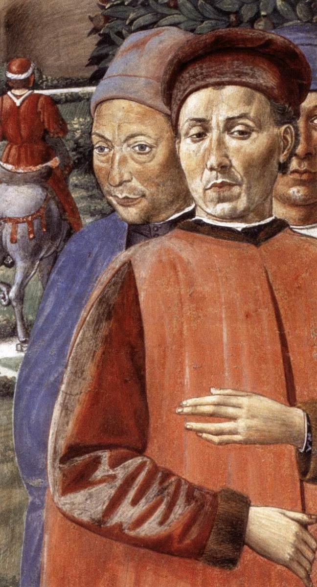 Беноццо Гоццоли. Сюжет 1
