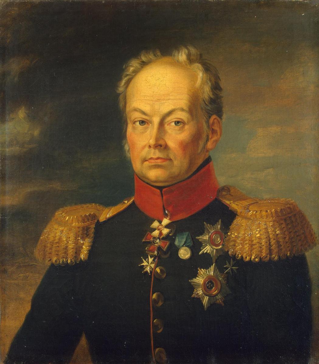 Джордж Доу. Портрет Ивана Никитича Инзова