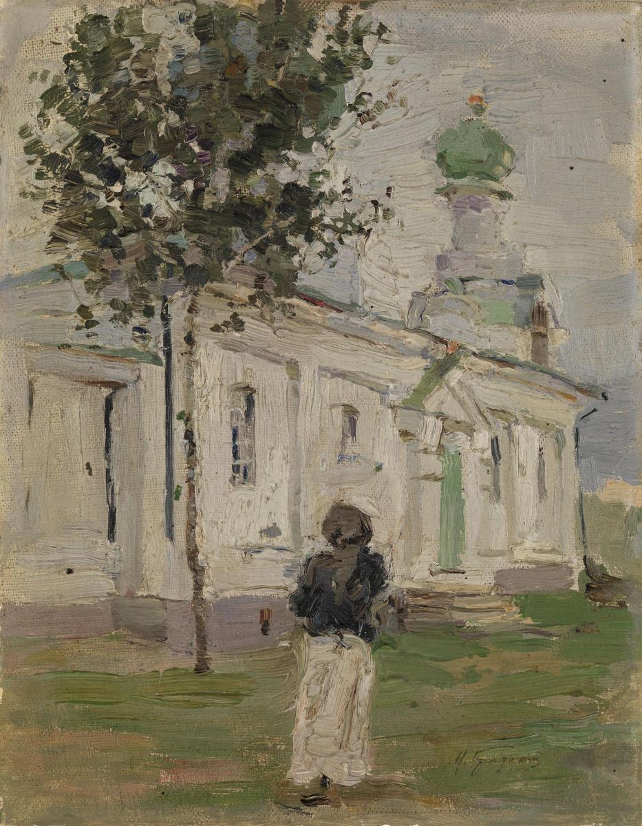 Исаак Израилевич Бродский. Церковь
