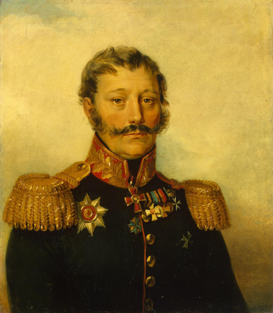 George Dow. Portrait of Vasily Dmitrievich Rykov