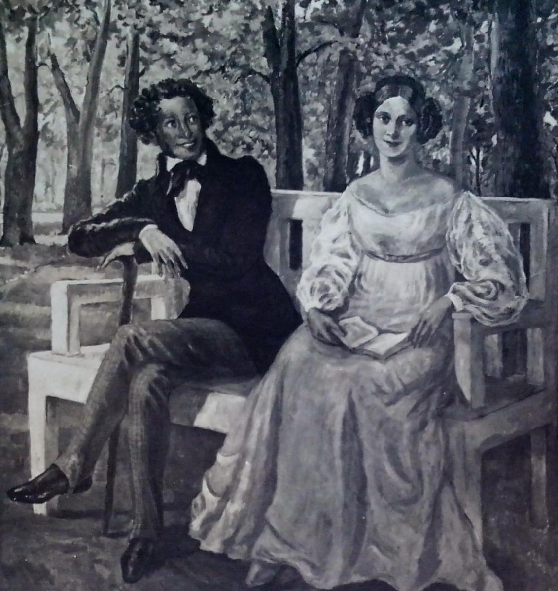 Nadezhda Konstantinovna Shved-Radlov (Radlov). Pushkin and Kern