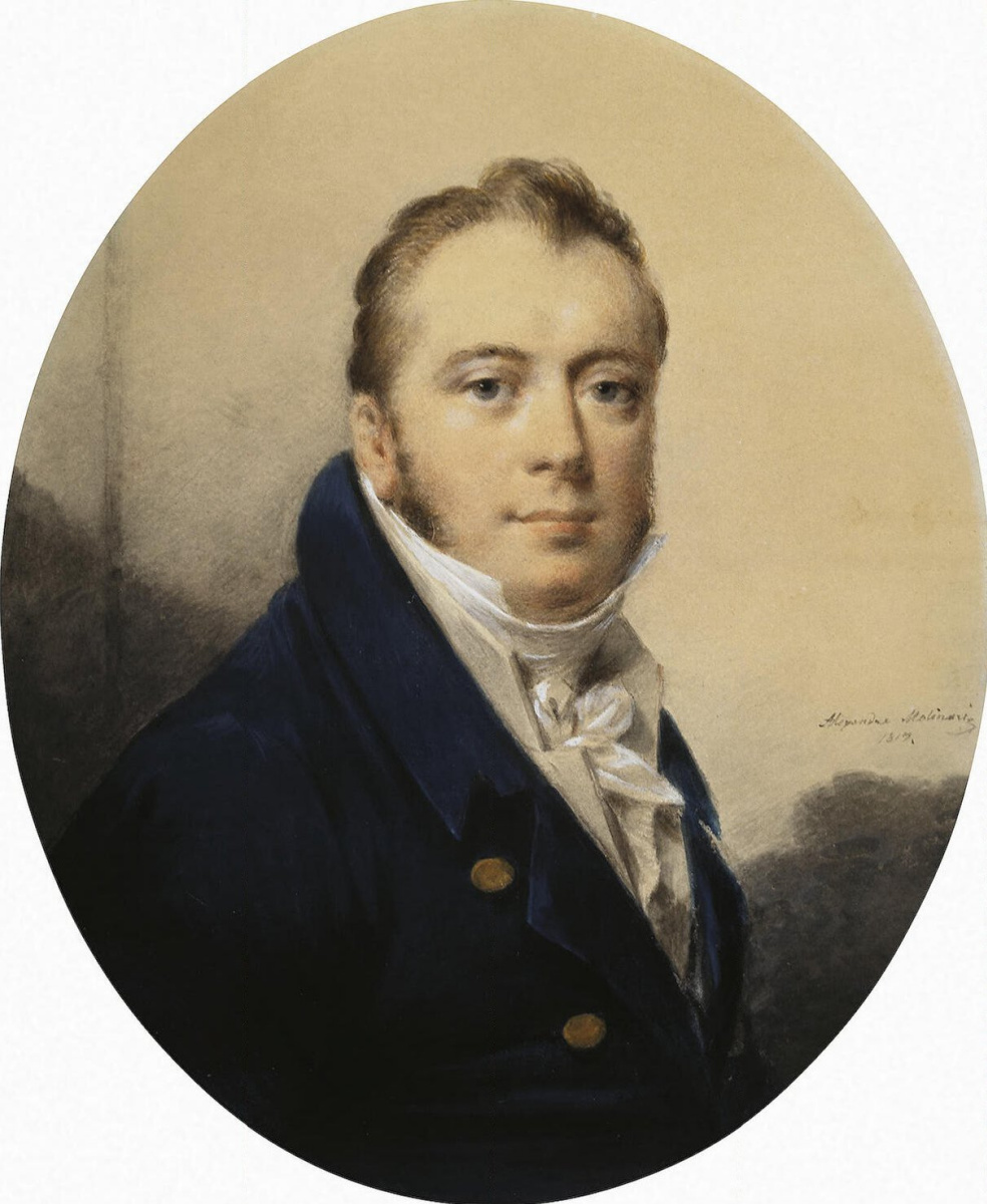 Александр Молинари. Мужской портрет