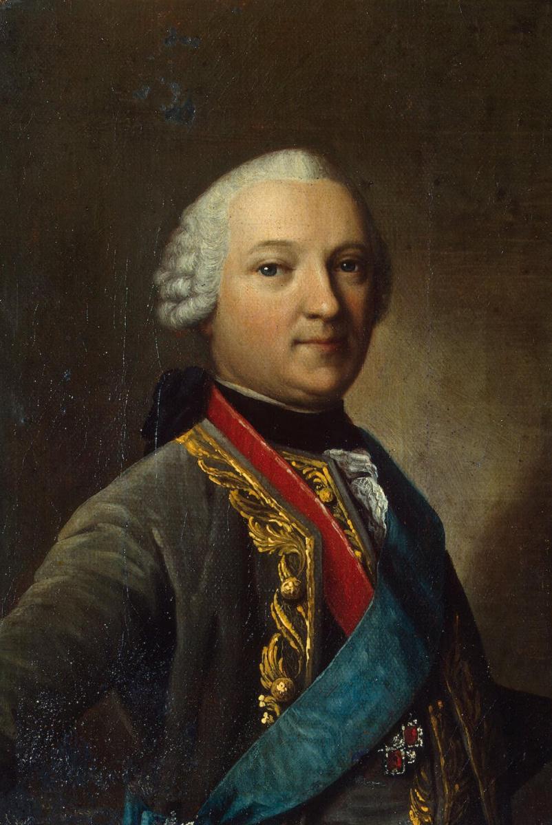 Виргилиус Эриксен. Портрет Каспара фон Сальдерна
