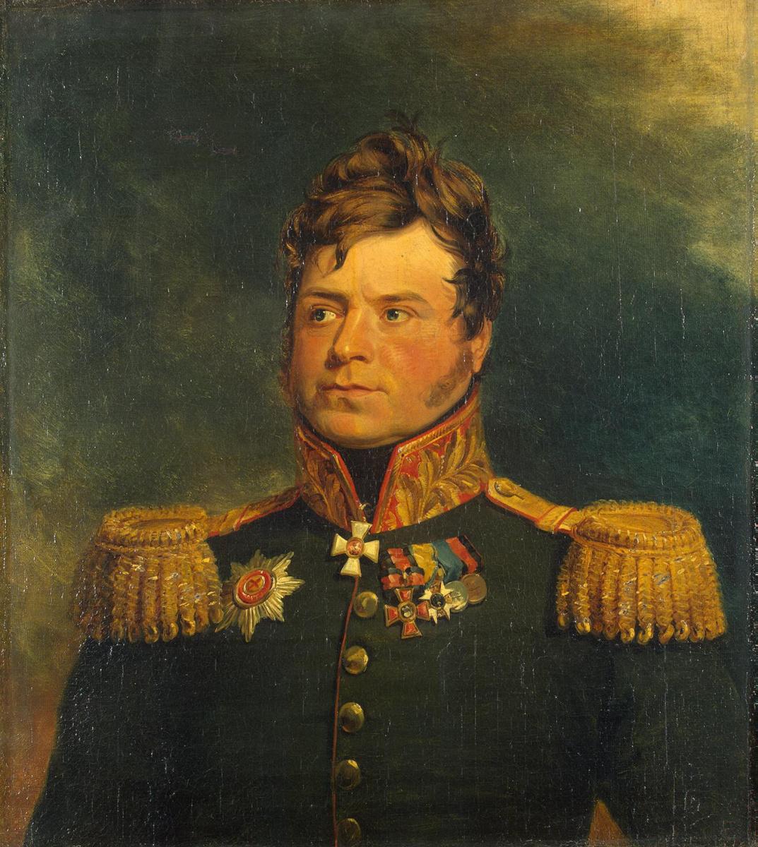 Джордж Доу. Портрет Александра Карловича Ридингера