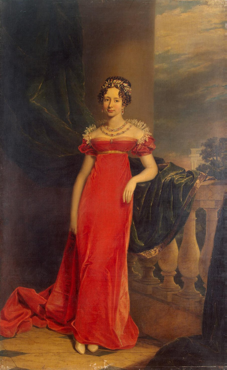 Джордж Доу. Портрет великой княгини Марии Павловны