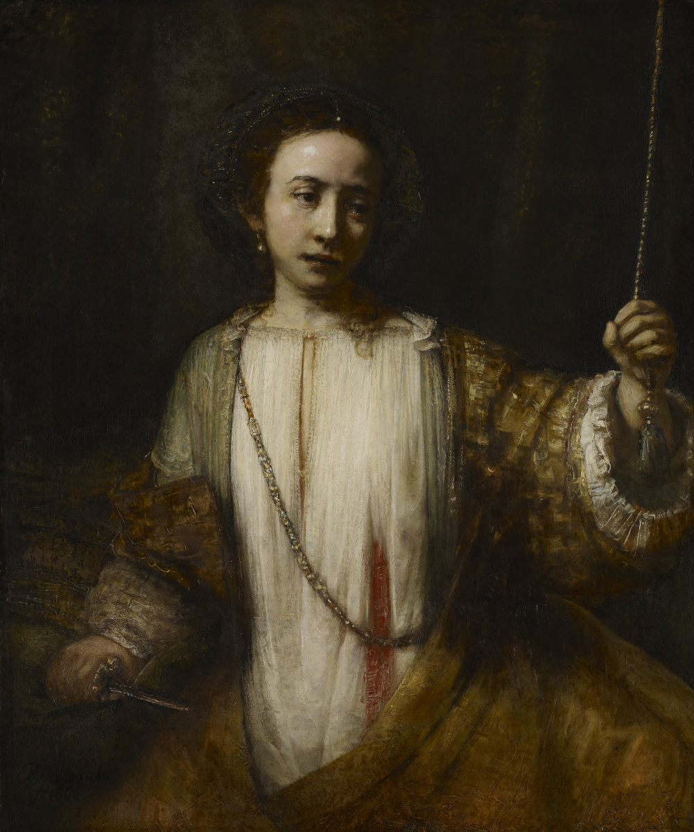 Рембрандт Харменс ван Рейн. Лукреция