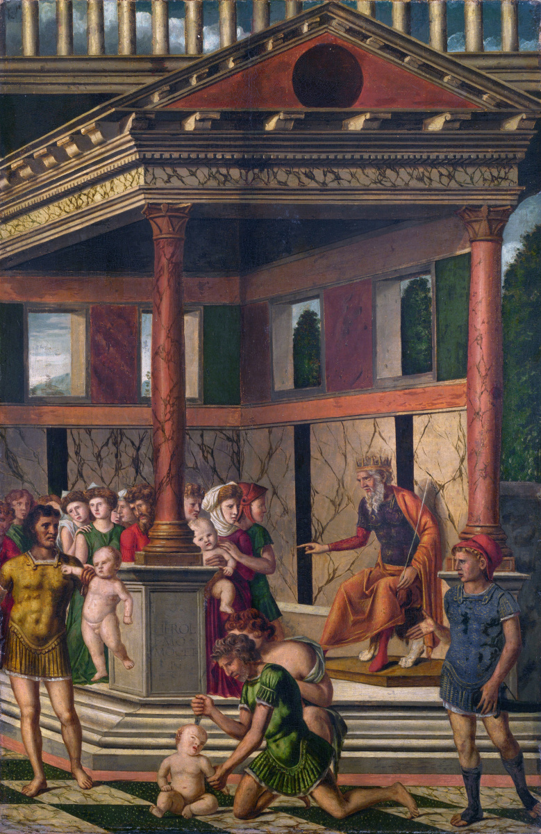 Мокетто Джероламо. Избиение младенцев с Иродом