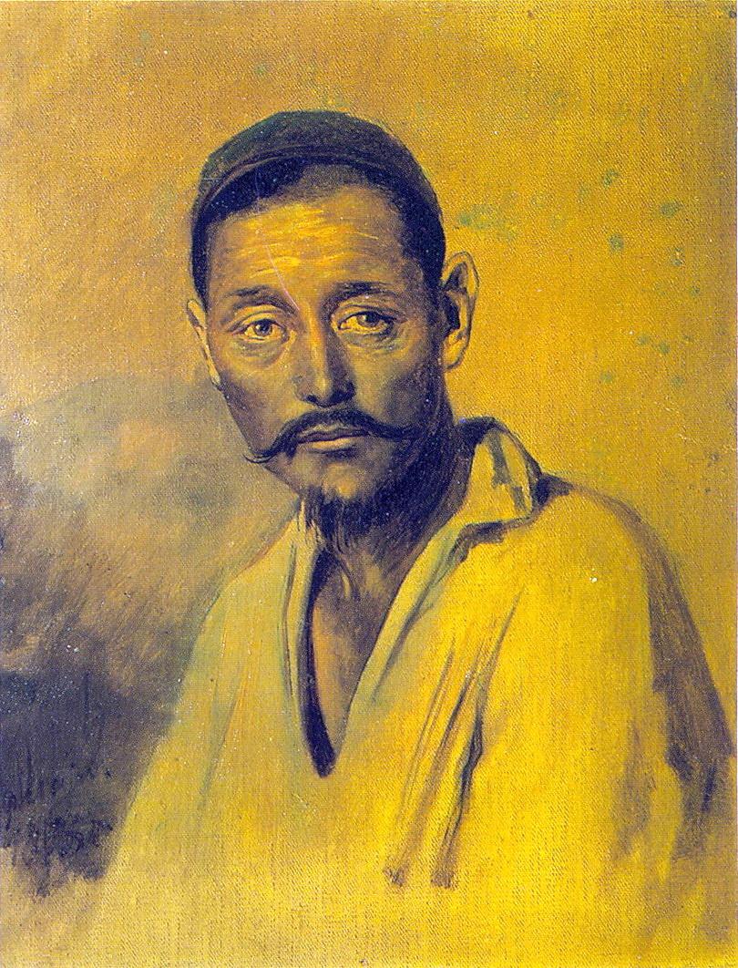 Василий Григорьевич Перов. Голова киргиза